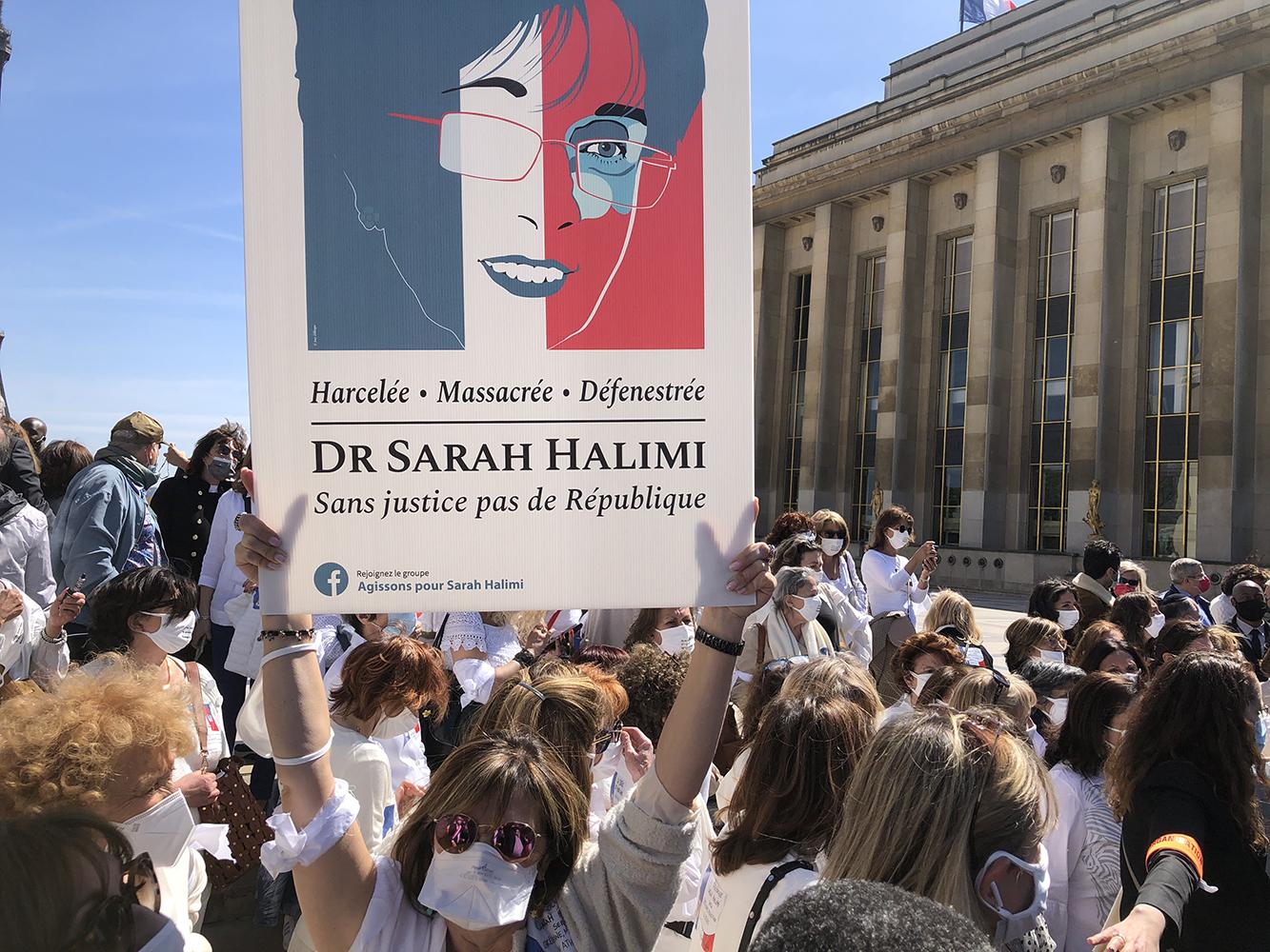 Paris rally for Sarah Halimi - 4
