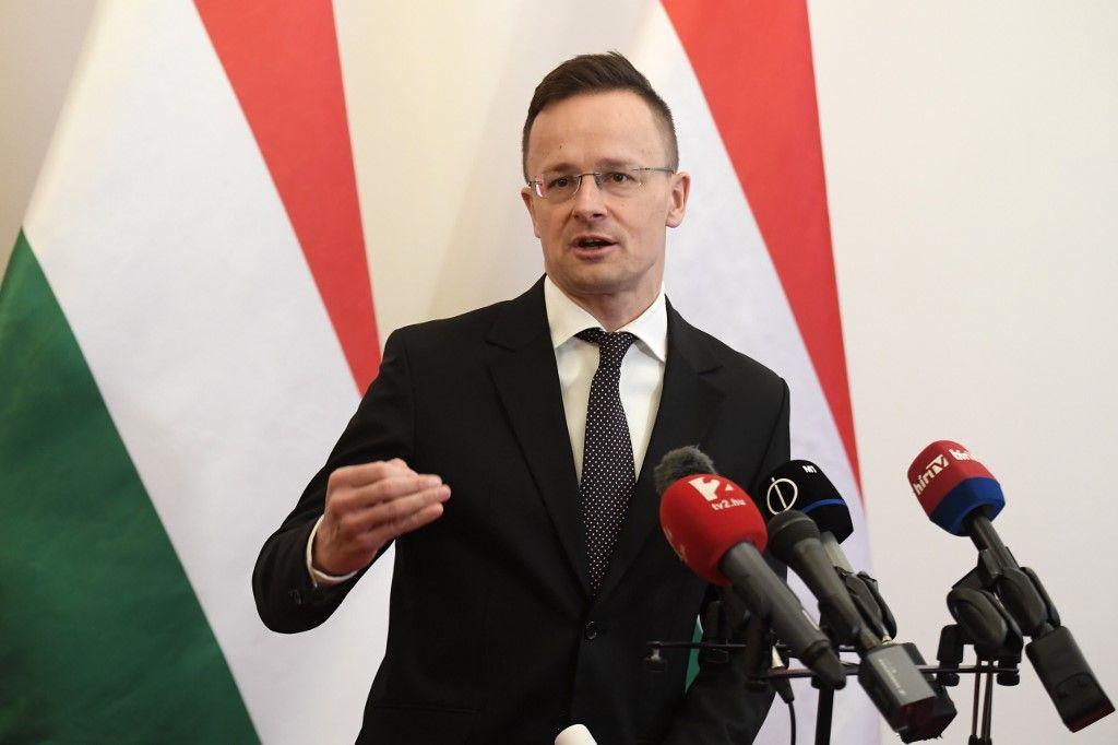 Le ministre des Affaires étrangères Peter Szijjarto
