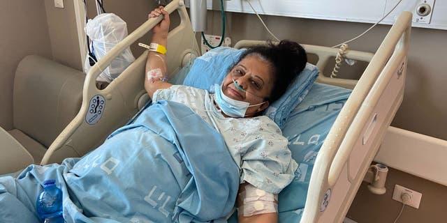 Randa Oweis, mère de cinq enfants, a reçu un nouveau rein de Yigal Yehoshua.