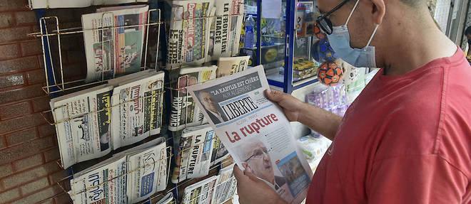 La presse nationale marocaine qu'elle soit en ligne ou imprimee a fustige la decision d'Alger.