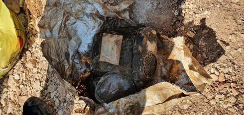 חפירות ליד גבעת התחמושת