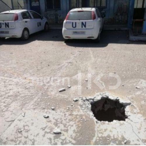 Un tunnel découvert dans la cour d'une école de l'UNRWA à Gaza en juin