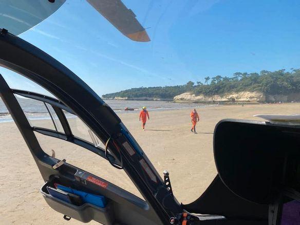 Le corps d'une fillette retrouvé au large de la grande plage de Saint-Georges-de-Didonne