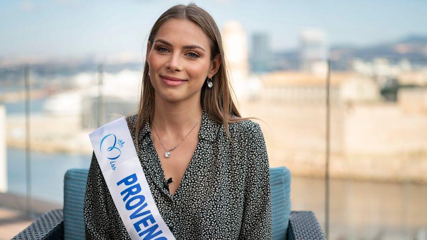 April Benayoum, âgée de 22 ans, a été élue Miss Provence 2021