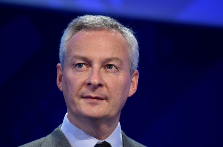 Le ministre de l'Economie et des Finances, Bruno Le Maire, le 26 novembre à Paris