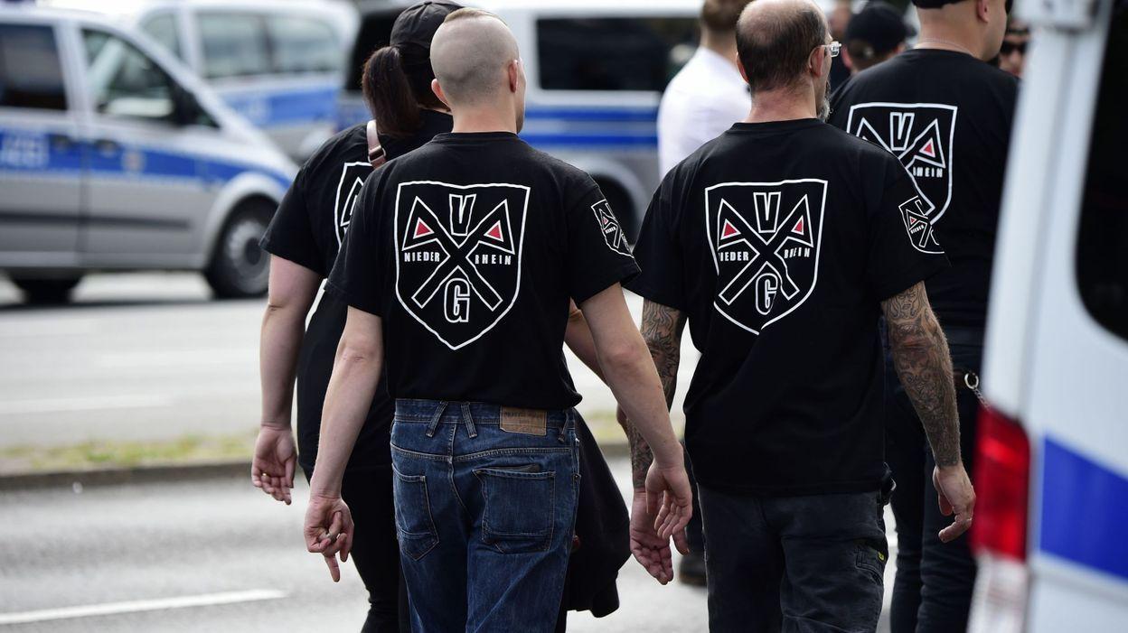 Des néo-nazis en Allemagne