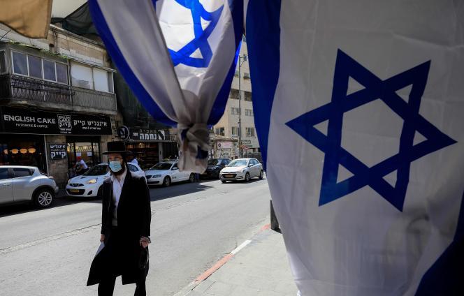 A Jérusalem, le 23 avril 2020.