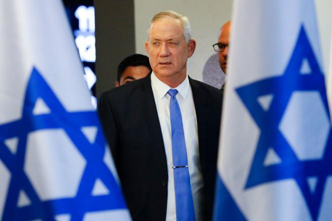 Le ministre de la défense israélien, Benny Gantz, à Tel-Aviv, en novembre 2019.